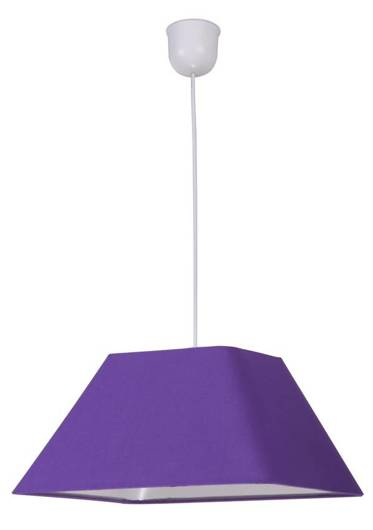 LAMPA SUFITOWA WISZĄCA CANDELLUX ROBIN 31-03294   E27 FIOLETOWY PROMOCJA