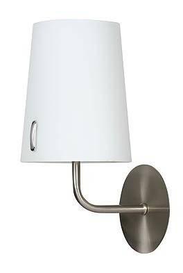 Lampa Ścienna Kinkiet Candellux Muscat 21-03662 E14 Nikiel Mat