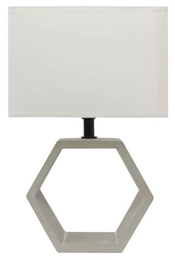 Lampa Stołowa Ceramiczna Candellux Vidal 41-68545 E27 Beżowy