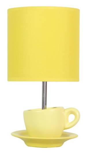 Lampa Stołowa Gabinetowa Candellux Cynka 41-34762 E27 Żółty