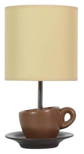 Lampa Stołowa Gabinetowa Candellux Cynka 41-34793 E27 Brązowy