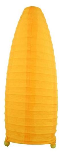 Lampa Stołowa Papierowa Candellux Papirus 41-89376 Żółty E14