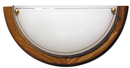 Lampa Sufitowa Candellux 1030 11-32457 Plafon1/2 Drewno Standard E27 Dąb