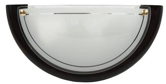 Lampa Sufitowa Candellux 1030 11-70237 Plafon Drewno Standard 1X60W E27 Wenge