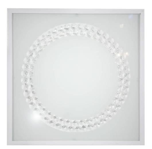 Lampa Sufitowa Candellux Lux 10-64462 Plafon 16W Led 4000K Biały Duży Ring
