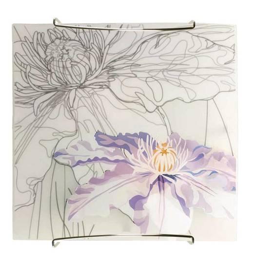 Lampa Sufitowa Candellux Spring 10-12982 Plafon E27 Fioletowy