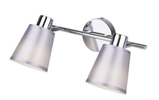 Lampa ścienna listwa 2X40W E14 chrom PIN 92-70654