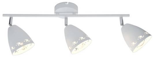 Lampa ścienna listwa 3X40W E14 biały mat COTY 93-67142