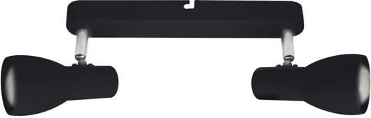 Lampa ścienna sufitowa listwa czarna 2x40W Picardo 92-50717