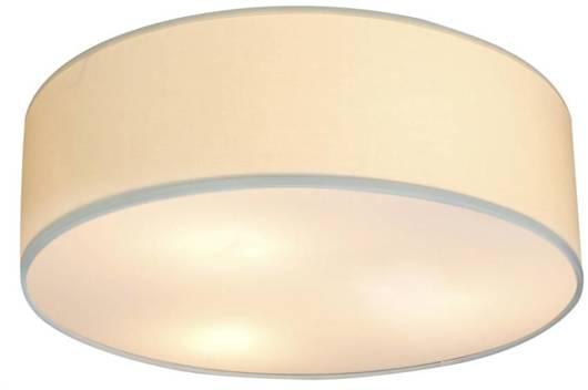 Lampa sufitowa okrągła kremowa 3x40W E27 40cm Kioto Candellux 31-64691