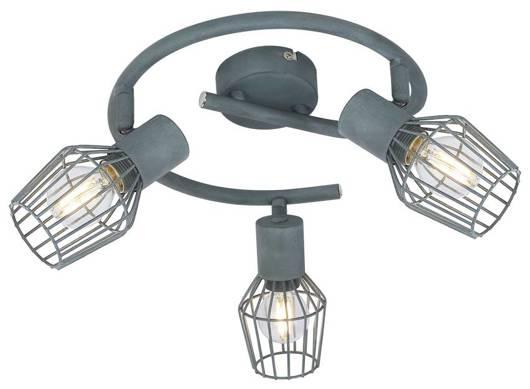 Lampa sufitowa spirala 3X40W E14 szary VIKING 98-68040
