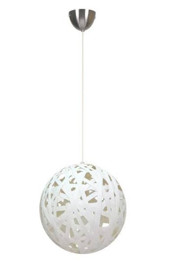 Lampa sufitowa wisząca 1X60W E27 biały FRIDA 31-51127