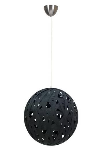 Lampa sufitowa wisząca 1X60W E27 czarny FRIDA 31-51134