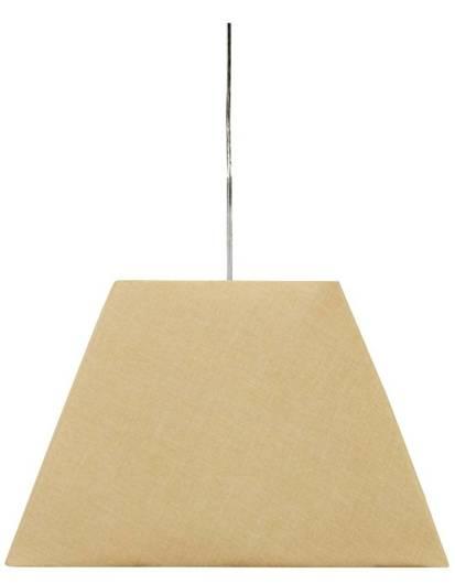 Lampa sufitowa wisząca 1X60W E27 kremowy STANDARD 31-10018