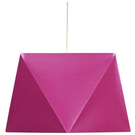 Lampa sufitowa wisząca 1X60W E27 różowy HEXAGEN 31-03638