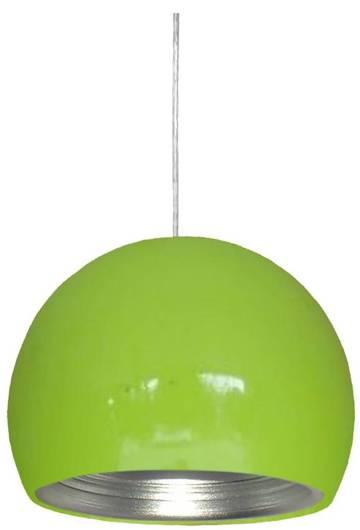 Lampa sufitowa wisząca 1X60W E27 zielony /srebrny PICTOR 31-24930