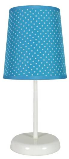 Lampka stołowa nocna niebieska w kropki Gala 41-98293