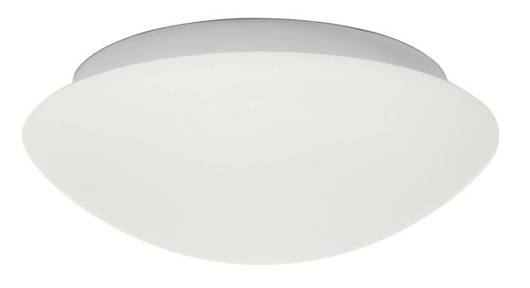Plafon biały szklany do łazienki E27 2x60W 39cm Nina Candellux 14-74242